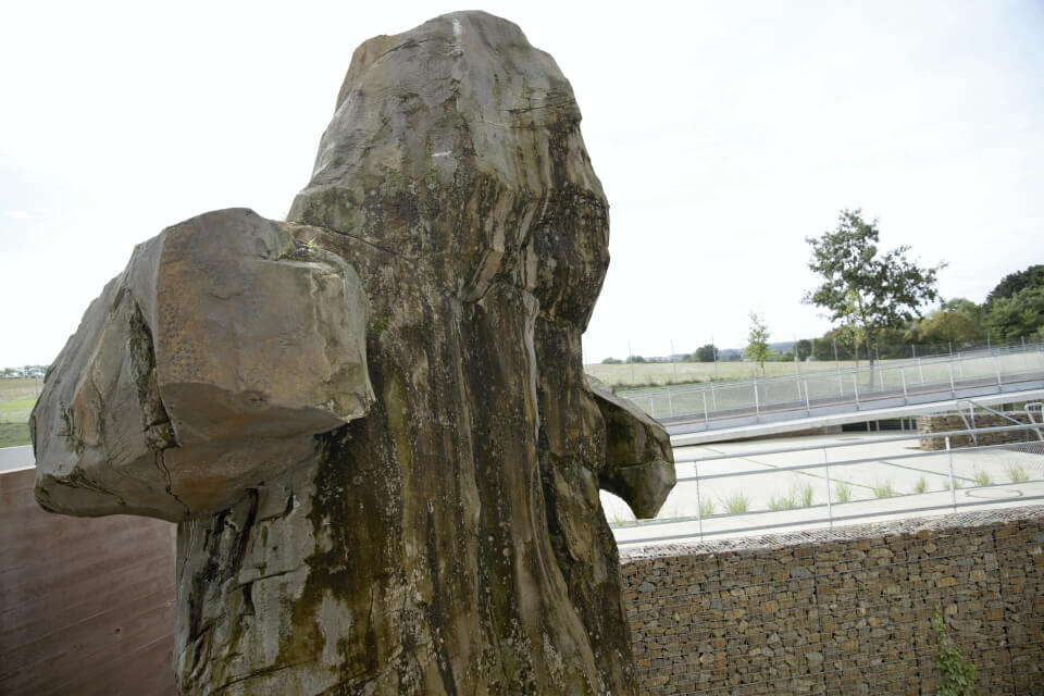 sculpture du meuge par seulgi lee