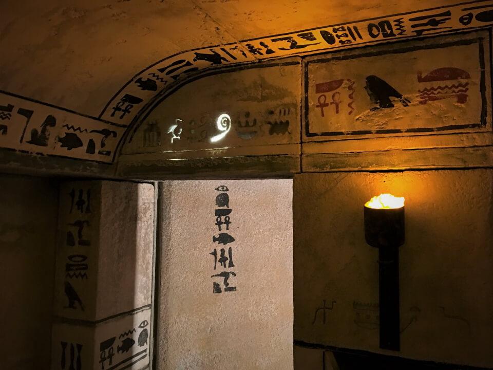 salle de jeux enigma game, salle egipte