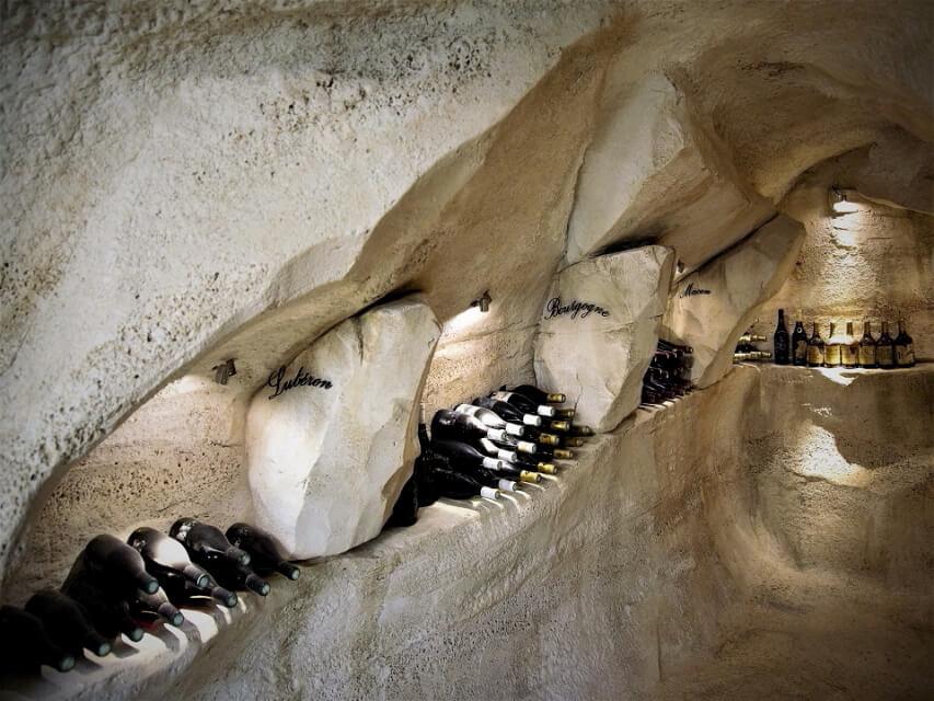 grotte cave a vin